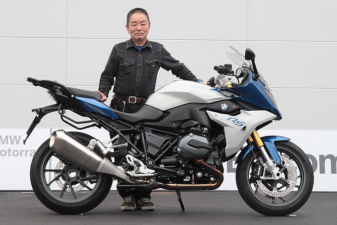 BMW R1200RS(2015) 中上 裕二さんの愛車紹介 画像