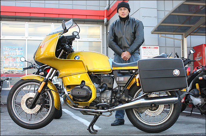 BMW R100RS(twin) 関 利衛さんの愛車紹介 画像