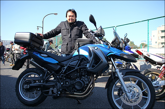 BMW F650GS(2009) ぱんださんの愛車紹介 画像
