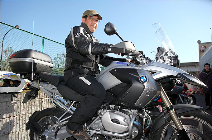 BMW R1200GS(2008) 柏原 清さんの愛車紹介 画像