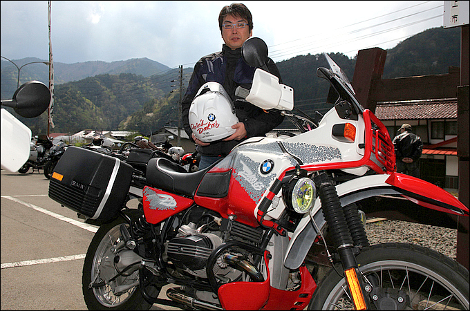 BMW R100GSパリダカール 横田 克也さんの愛車紹介 画像