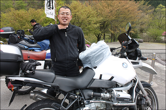 BMW R1100GS 萱野 真幸さんの愛車紹介 画像