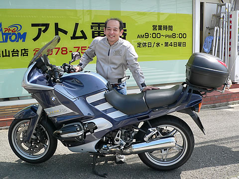 BMW R1150RS 松下 益久さんの愛車紹介 画像