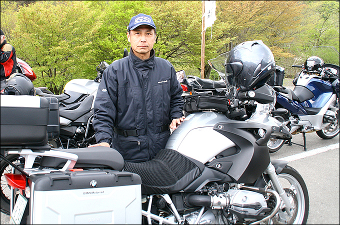 BMW R1200GS(2007) 菱田 勝也さんの愛車紹介 画像