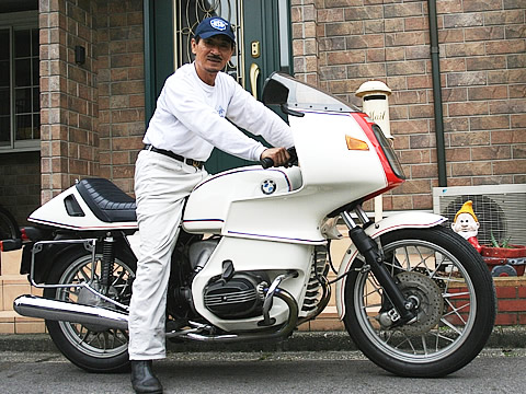 BMW R100RS 静じいさんの愛車紹介 画像