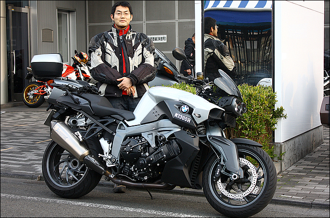 BMW K1300R 小島 祐太さんの愛車紹介 画像