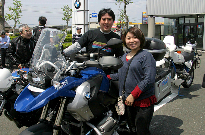 BMW R1200GS(2008) 清水 亨輔さんの愛車紹介 画像