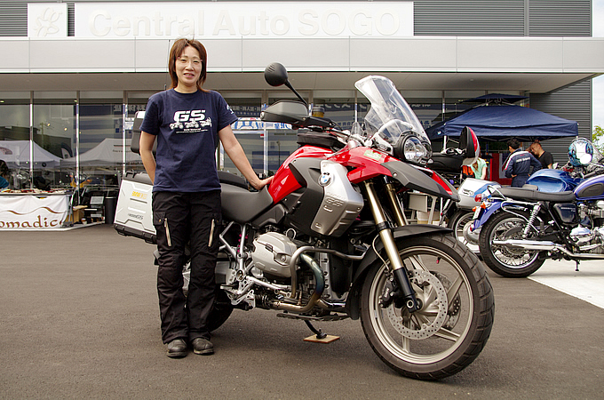 BMW R1200GS(2010) 河村 幸さんの愛車紹介 画像