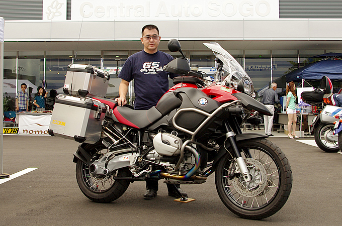BMW R1200GSアドベンチャー(2008) 河村 文彦さんの愛車紹介 画像