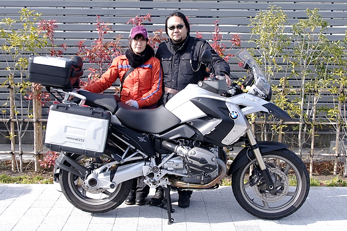 BMW R1200GS(2008) ぱんだ&こあらさんの愛車紹介 画像