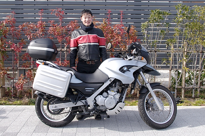 BMW F650GS 冨田 一博さんの愛車紹介 画像