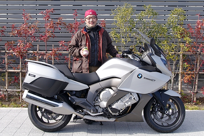 BMW K1600GT(2012) ザーキー問屋のおっさんの愛車紹介 画像