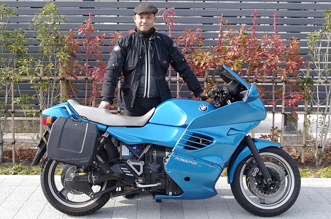 BMW K1100RS(1996) 冨永 正之さんの愛車紹介 画像