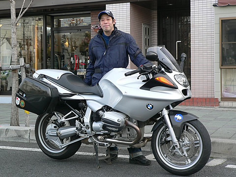 BMW R1100S 奥田さんの愛車紹介 画像
