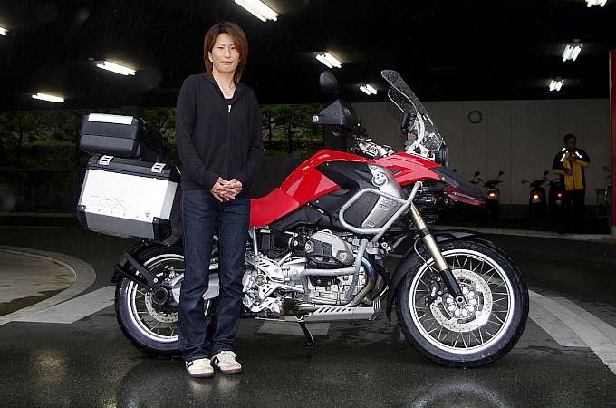 BMW R1200GS 斉藤 節実さんの愛車紹介 画像