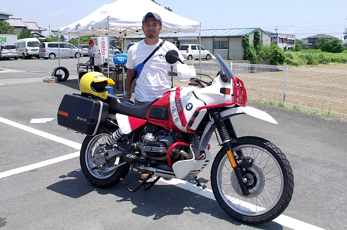 BMW R100GSパリダカール(1991) SssーVQさんの愛車紹介 画像