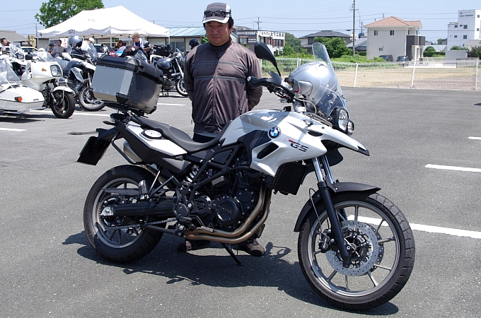 BMW F700GS(2012) 山崎浩文さんの愛車紹介 画像