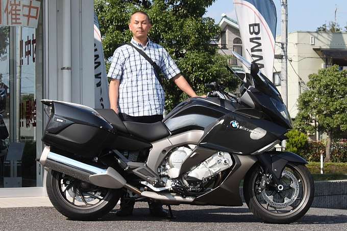 BMW K1600GT(2013) 藤原 直也さんの愛車紹介 画像