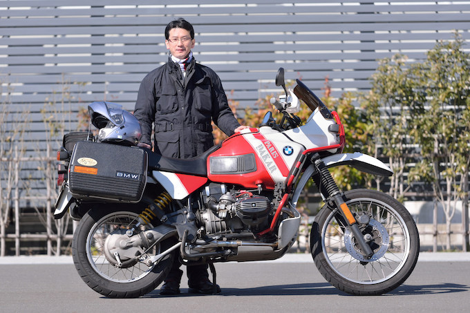 BMW R100GSパリダカール(1991) 横地 洋さんの愛車紹介 画像