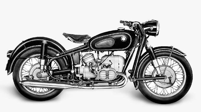 R50(1955~60年) BMWマシンの...