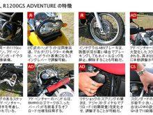 BMWバイク比較インプレッション「R1200GS vs R1200GSアドベンチャー」の画像