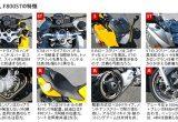 BMWバイク比較インプレッション「F800S vs F800ST」の画像