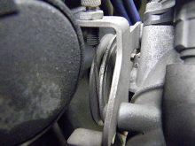 吸気量のバランスを見る 左右スロットルの同調調整の画像