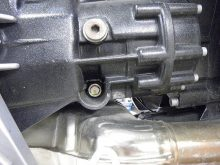 トランスミッションオイルの交換の画像