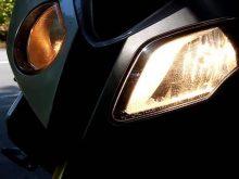 2010年新登場 BMW S1000RR ヘッドライトの画像