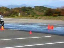 BBライダートレーニング 3-7.ウェット路面で急制動(R1200R)の画像
