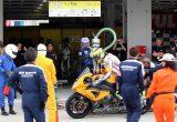 2012 鈴鹿8耐 松下ヨシナリ選手の走行シーンの画像