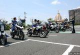 BMW Motorrad Club Japan ライダーストレーニング in 川崎大師の画像