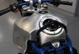 #02 メガモトをレーサー仕様に!アルミタンク製作編の画像